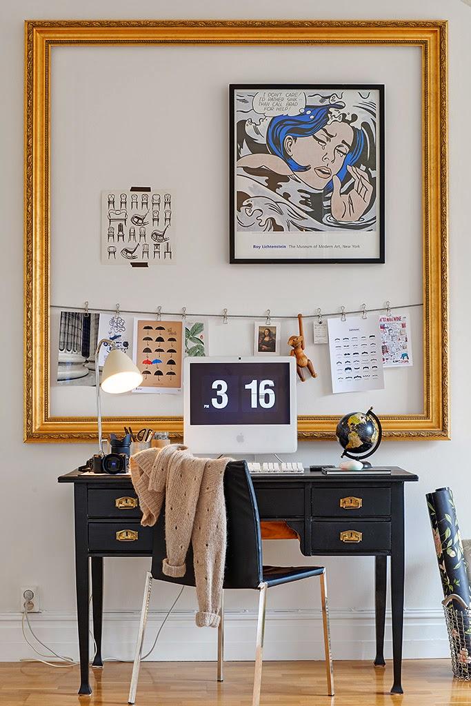 Стена как место для заметок. 13 Идей
