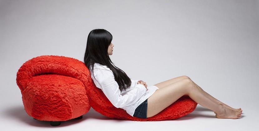 Безумно нежное кресло от Lee Eun Kyoung