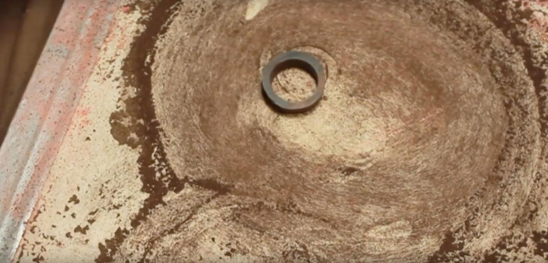 Как сделать кольцо из дерева