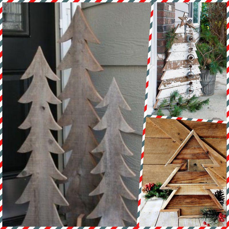 47 Потрясающих новогодних елок ручной работы