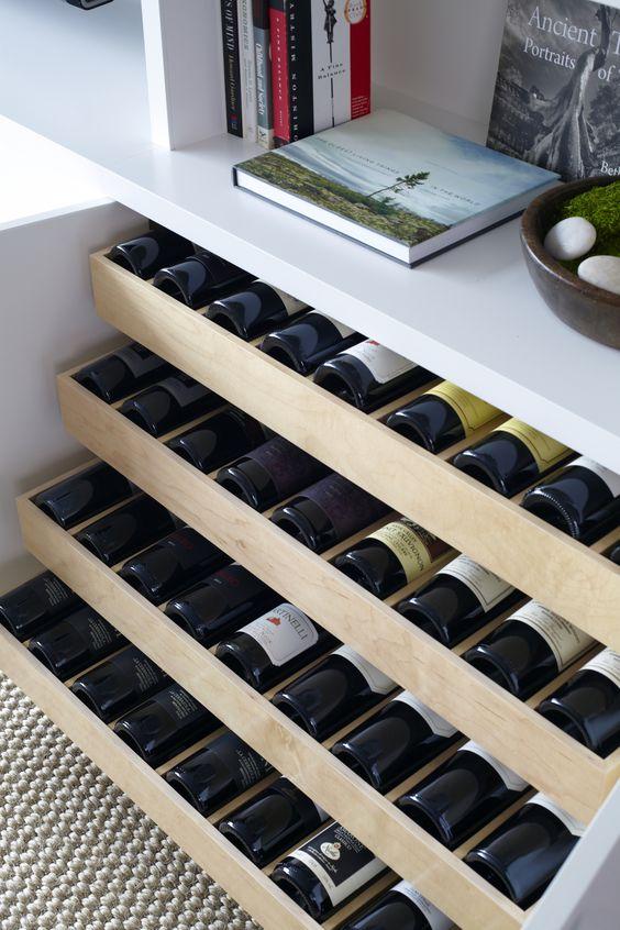 35 Идей хранения вина в интерьере