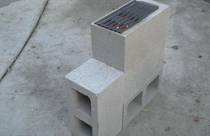Как самостоятельно построить «ракетную печь» из кирпича или шлакоблока