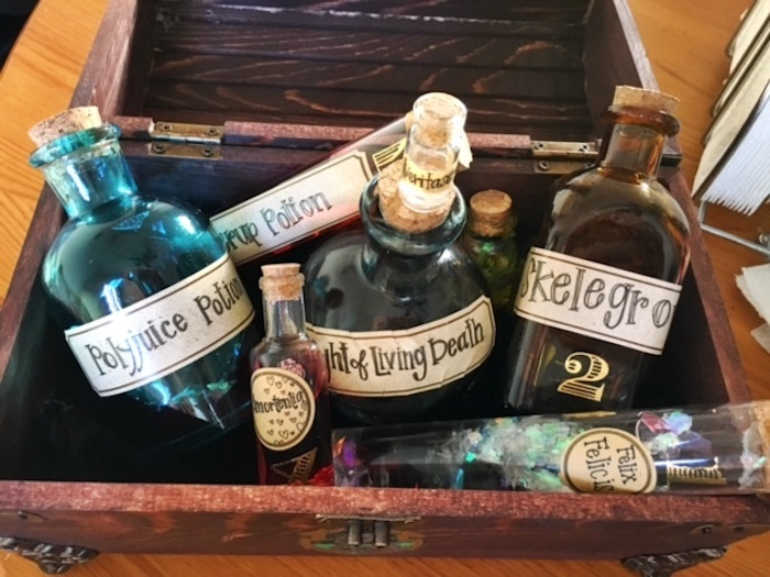 Подарки Гарри Поттер